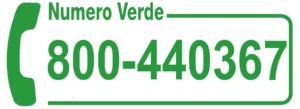 numero verde pronto intervento
